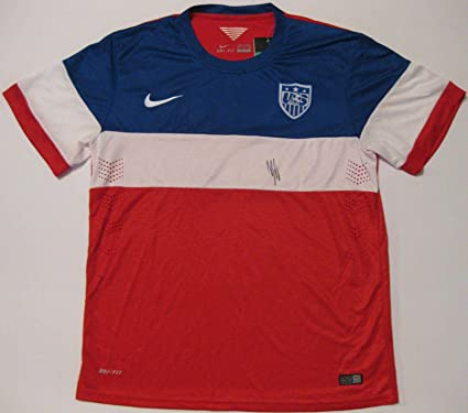 2d6e4c9e5 Signed Clint Dempsey Jersey - world Cup usa coa proof- - Autographed Soccer  Jerseys