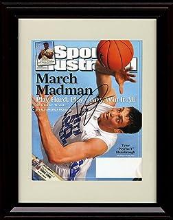 Framed Clyde Drexler Sports Illustrated Autograph Replica Print Portland Trail Blazers