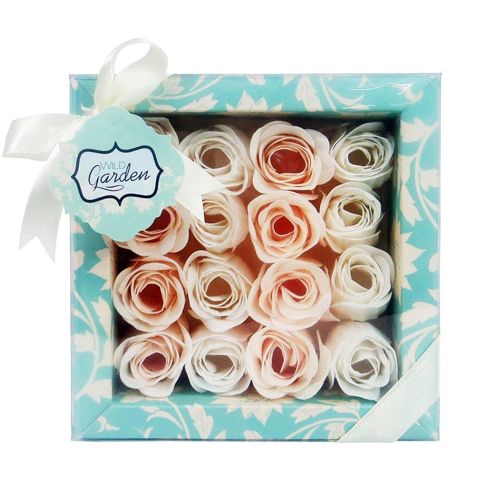 Gloss ! Make up & accessoires Coffret de Bain Wild Garden Fleur de Magnolia, Coffret Cadeau-Coffret de bain FL12B003-G