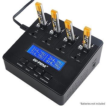 FancyWhoop E6 1S LiPo cargador de batería 1A LiPo LiHV AC ...