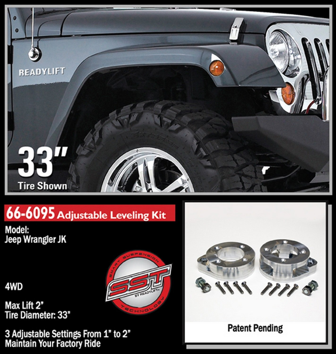 for kit jk kits wrangler premium jeep clayton offroad lift new