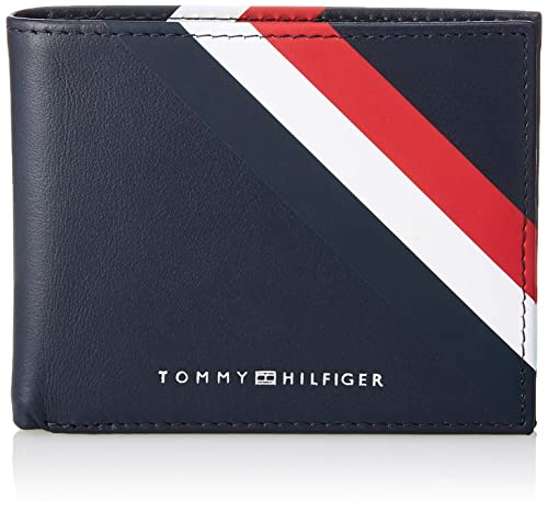 premium selection e2baa ee5c0 Tommy Hilfiger Bold Corporate Mini Cc Wallet, Men's Credit Card Case, Blue  (Corporate), 2 x 8.7 x 11 cm (B x H x T)
