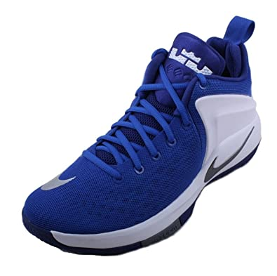 Nike Mens Zoom Witness Basketball ShoesBlue  B06XCX3JB3