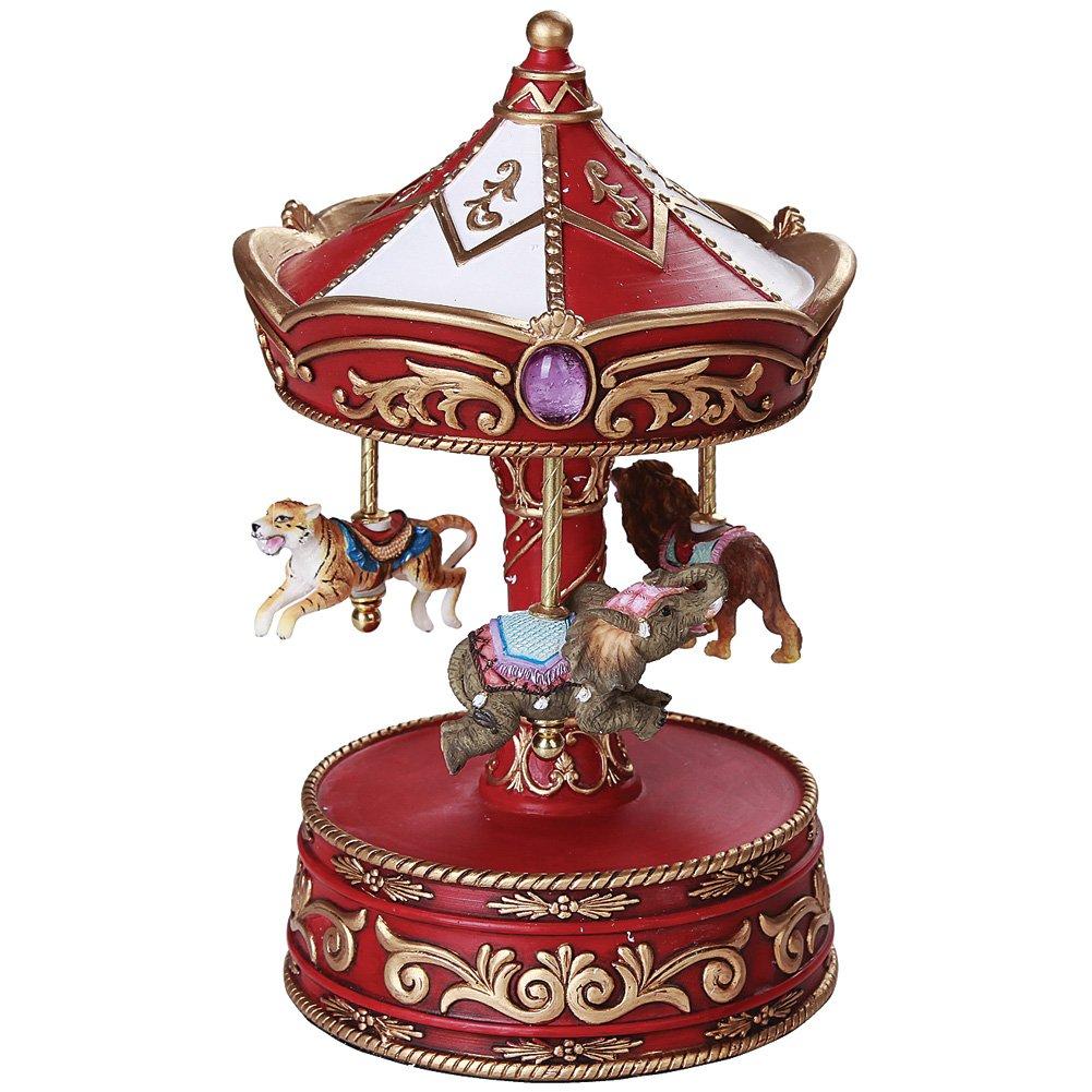 格安 Circus Animals Circus – Musical Carousel – 詳細な手描き樹脂W/ワインドアップベース B076TRB8YL B076TRB8YL, 岐阜県関市:97e500e0 --- arcego.dominiotemporario.com