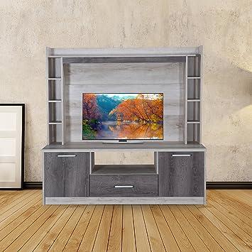 3859bde66 Royaloak Zinc Entertainment Unit (Beige)  Amazon.in  Home   Kitchen