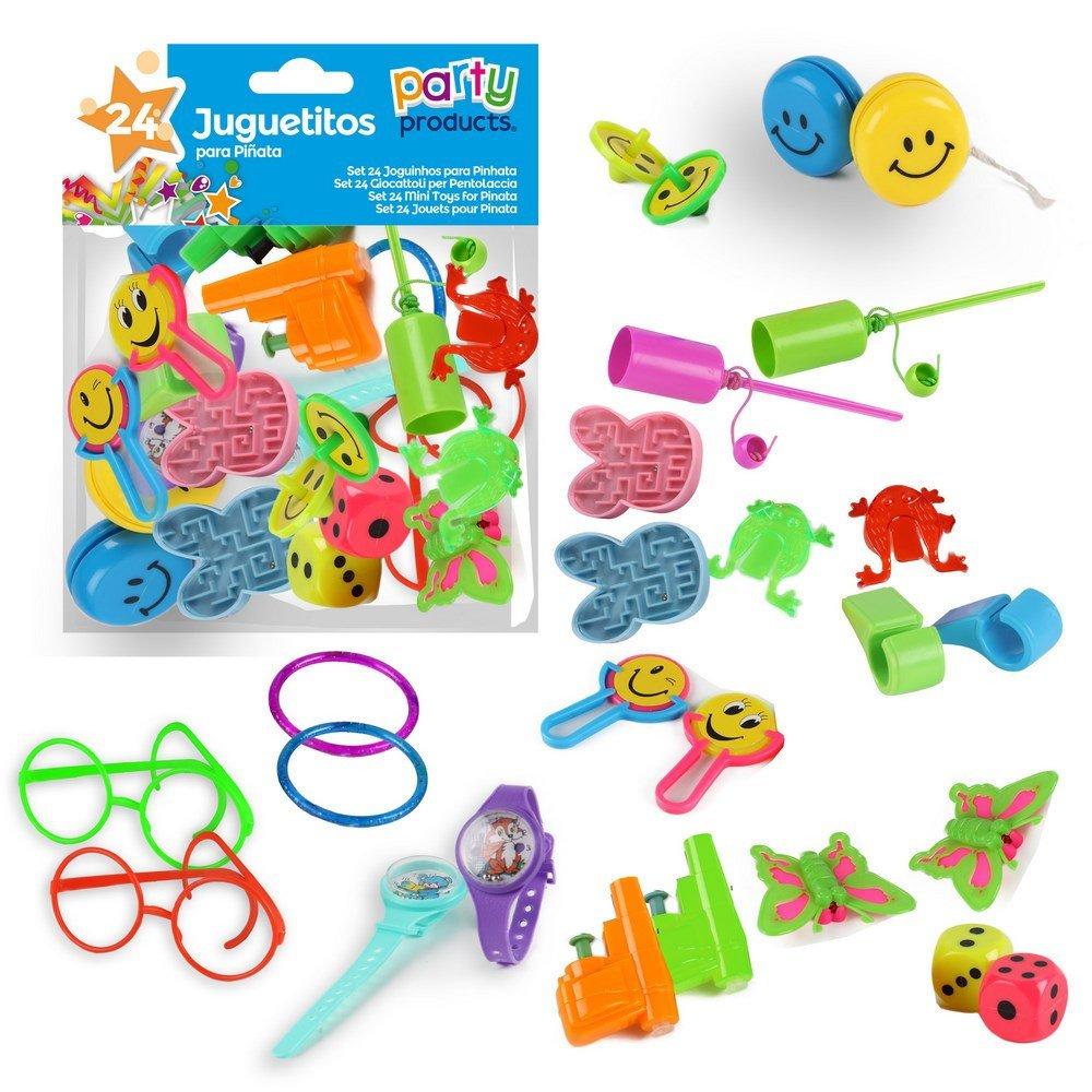 kit 24 jouets pour pinata fête anniversaire enfants pochette surprise cadeaux Party products