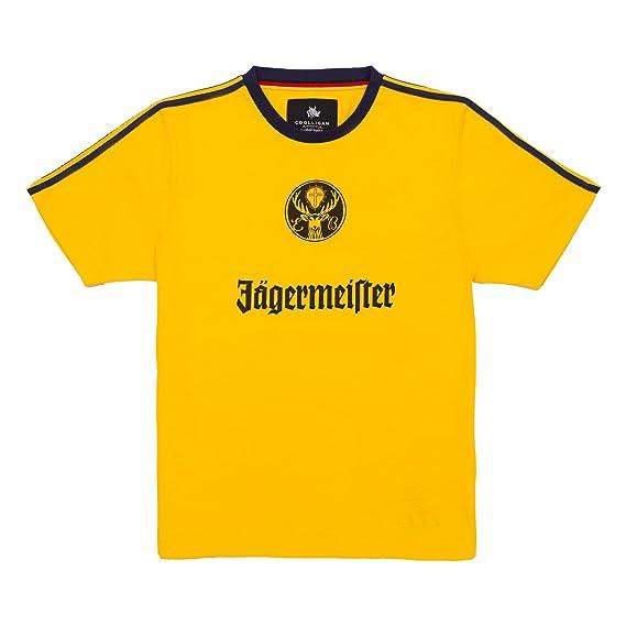 Coolligan - Camiseta de Fútbol Retro 1977 Eintracht Braunsweigh - Color - Amarillo - Talla - 3XL: Amazon.es: Ropa y accesorios