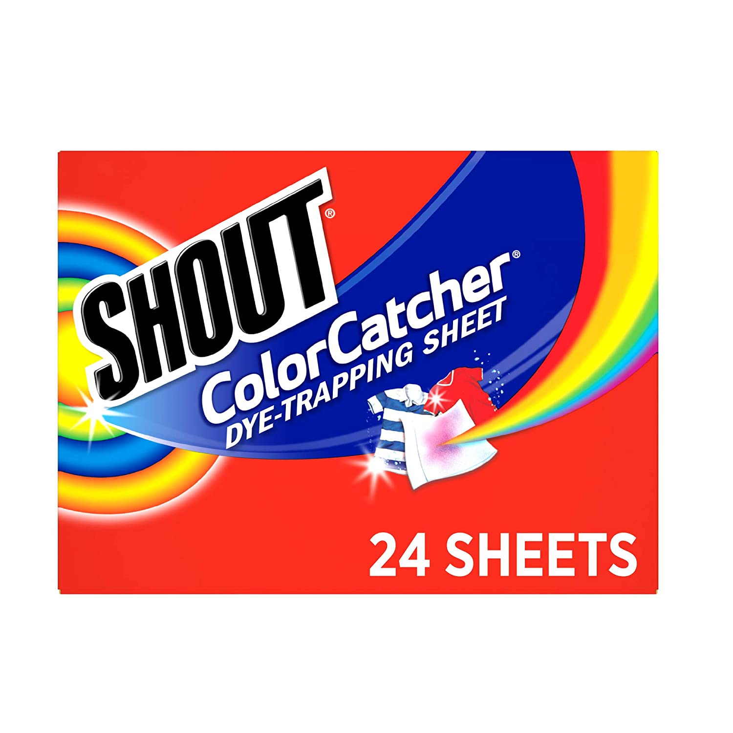 Shout, Washer Sheets, 24 ct