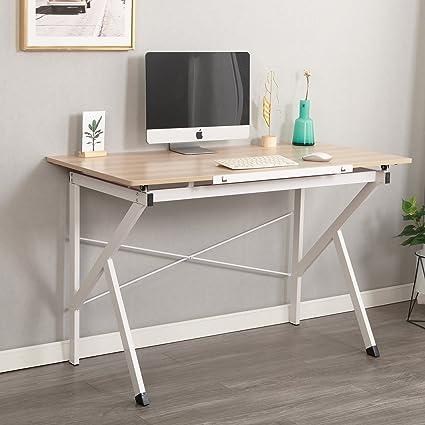 Charmant Soges 47u0026quot; Adjustable Computer Desk, Drawing Desk Sketch Art Desk,  Adjustable Drafting Table