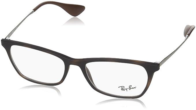Amazon.com: Ray-Ban óptico 0rx7053 Gafas de sol Para Unisex ...