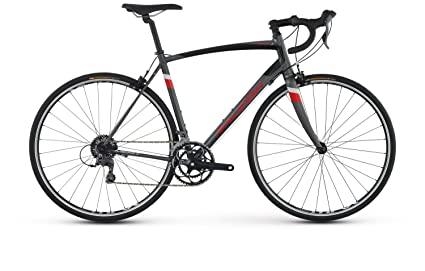 965b633f3a7 RALEIGH Bikes Merit 1 Endurance Road Bike, 54 cm/Medium, Dark Silver