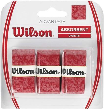 Wilson Advantage Overgrip Empuñadura, Unisex: Amazon.es: Deportes ...