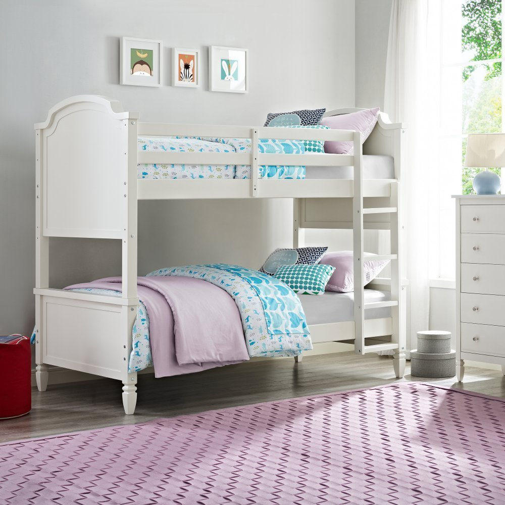 Vivienne Over Bunk Bed, Twin, White