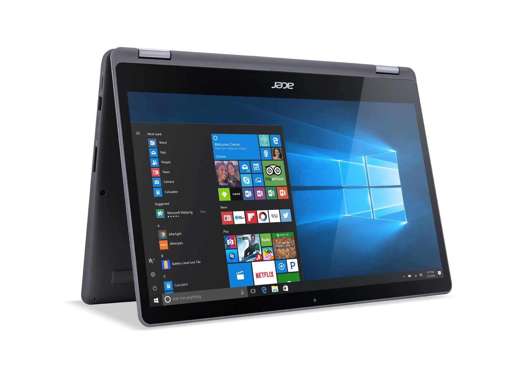 Acer Aspire R 15 Convertible Laptop, 7th Gen Intel Core i7, GeForce 940MX, 15.6'' Full HD Touch, 12GB DDR4, 256GB SSD, R5-571TG-7229