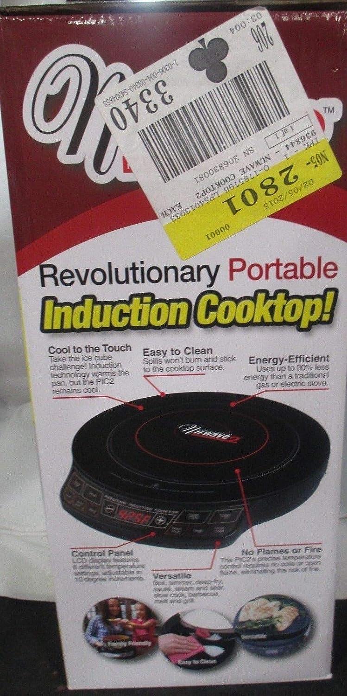 Amazon.com: Nuwave 2 Induction Cooktop de precisión con 9 ...