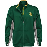 Chamarra NCAA «First String» de cierre zipper completo para hombres