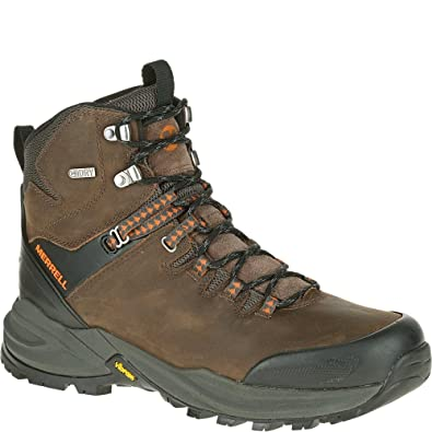 13a5cd26b9a Merrell Men's Phaserbound Waterproof Hiking Boot, Clay, 7 M US ...