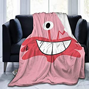 Wilt Face Foster's Home for Imaginary Friends Super Soft Sheep Blanket, Suitable for Adults Or Children's Sofa Or Bed