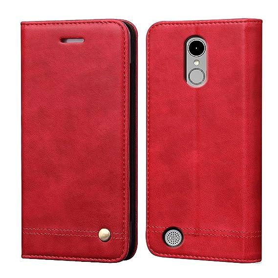 LG K8 2017 Case,LG Phoenix 3 Case,LG Aristo Case,LG Fortune/LG Rebel 2  LTE/LG Risio 2 /LG LV3 Case,RUIHUI Flip Leather Protective Wallet Cover  Case
