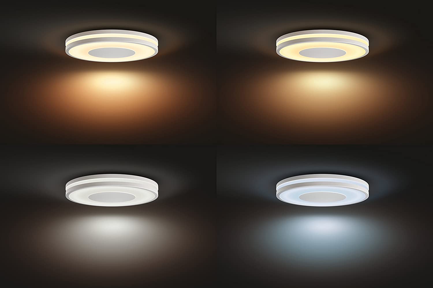 Plafoniera A Led Beign Philips Hue : Philips lighting plafoniera 3261031p7 hue being lampada da soffitto
