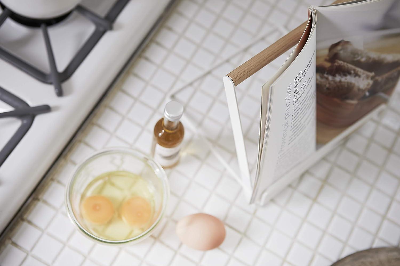 Taglia Unica yamazaki Tosca Leggio per Libri di Cucina Bianco
