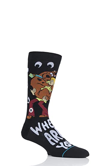 Stance Calcetines Scooby Doo Where Are You Negro: Amazon.es: Ropa y accesorios