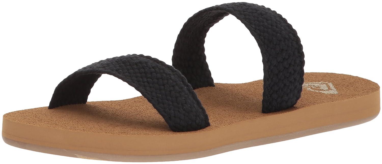 Roxy Women's Sanibel Slide Sandal B0721QRP6G 9 B(M) US|Black