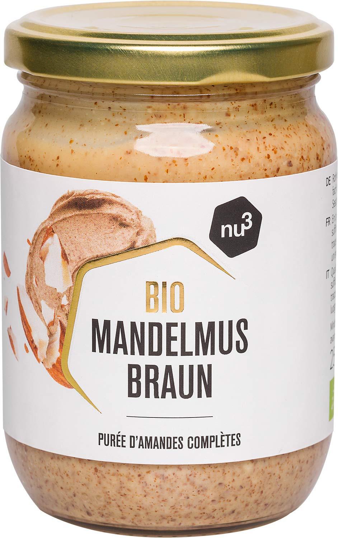 nu3 Crema de anacardo BIO | 250g de cashew butter 100% orgánica | Mantequilla de nueces vegana de alta calidad | Libre de lactosa y gluten | Puré perfecto ...