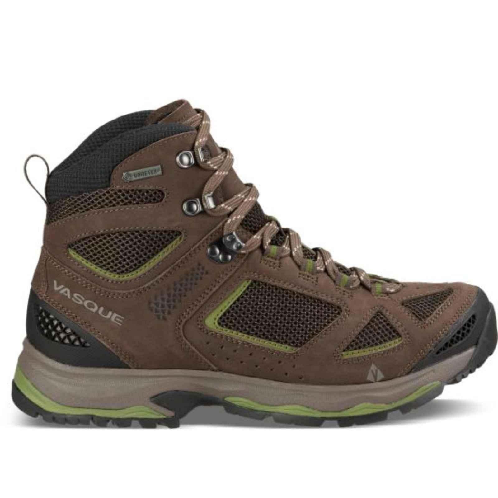 Vasque Breeze III GTX Boot - Men's Brown Olive / Pesto 12 Wide