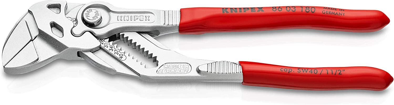 clé à molette KNIPEX PINCE CLÉ 86 01 250 mm tableau de bord Pince Pince