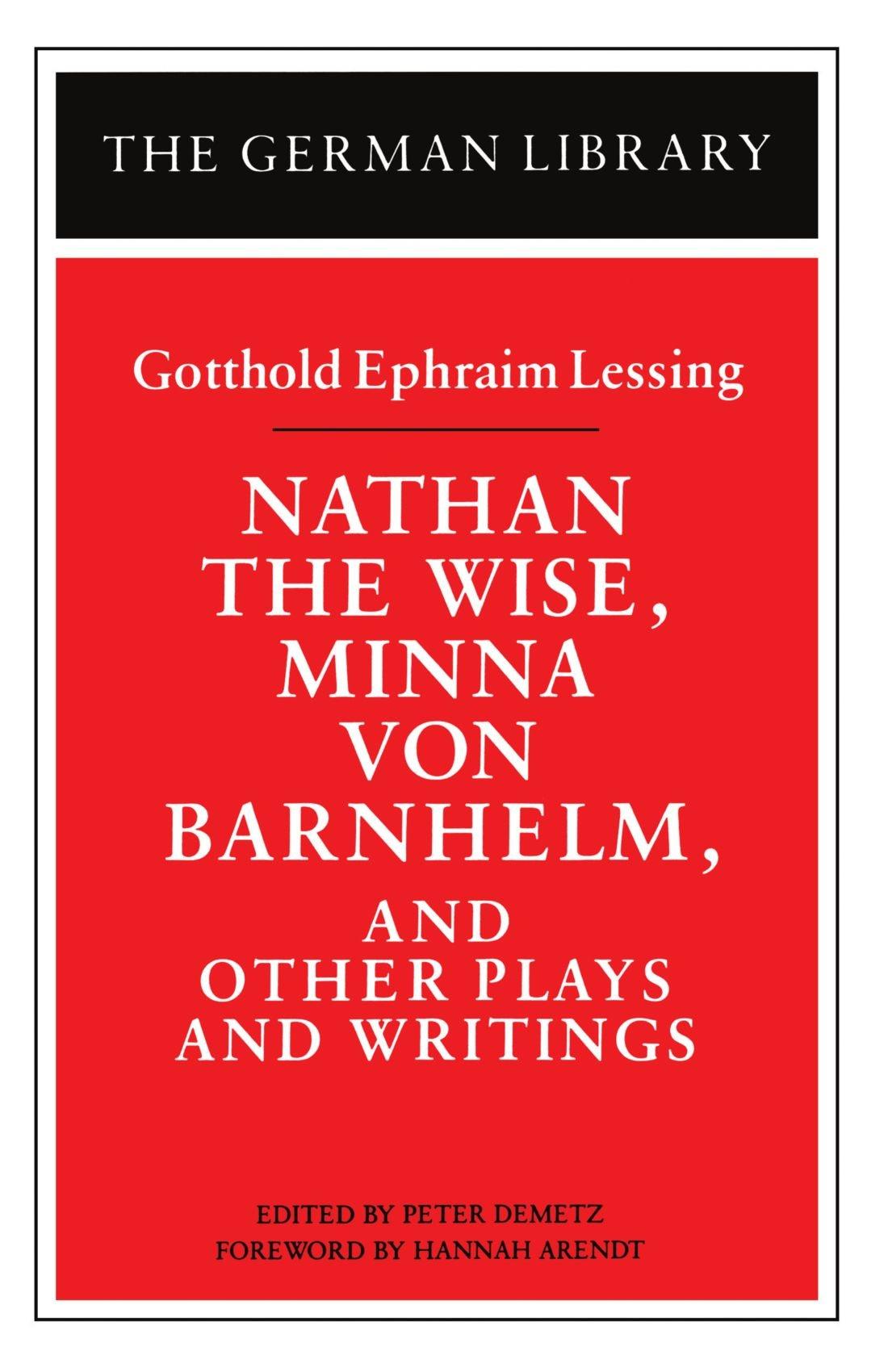 Amazon Gotthold Ephraim Lessing Books Biography Blog