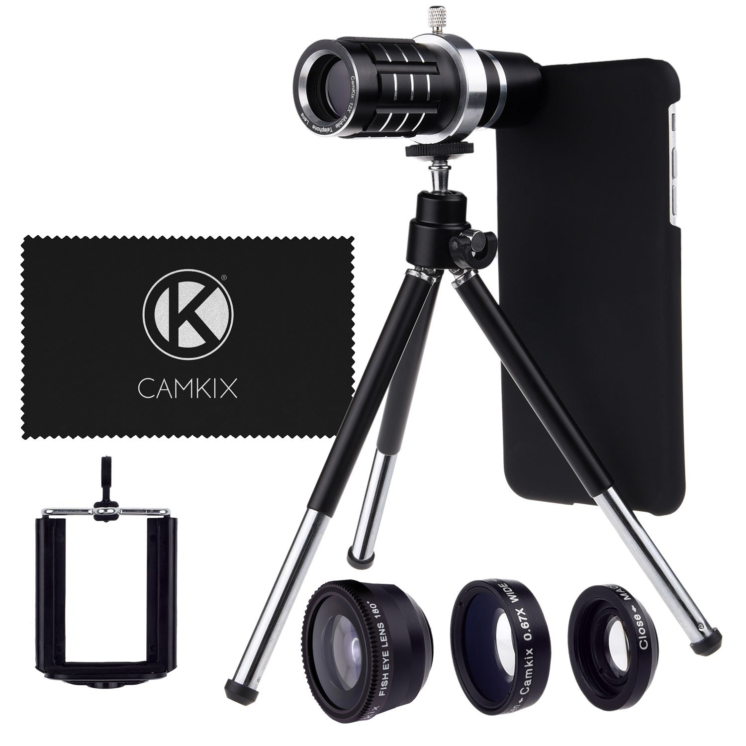 The CamKx Camera Lens Kit Compatible with Apple iPhone travel product recommended by Tina Butera on Lifney.