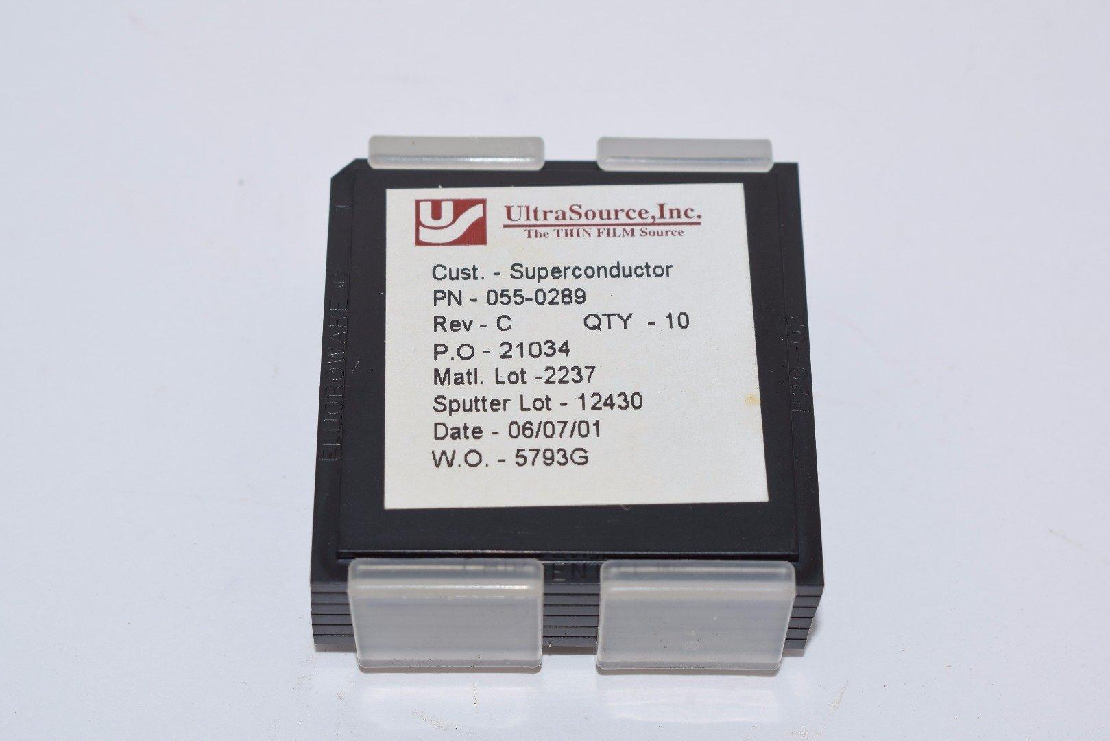 Lot of 10 NEW Superconductor UltraSource 055-0289 Rev C Thin Film Sensor