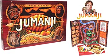 JUMANJI El Juego De Mesa | Un Juego para Los Que Buscan Encontrar... Una Manera De Dejar Su Mundo Atrás | Juego De Mesa Familiar Grande |: Amazon.es: Juguetes y juegos