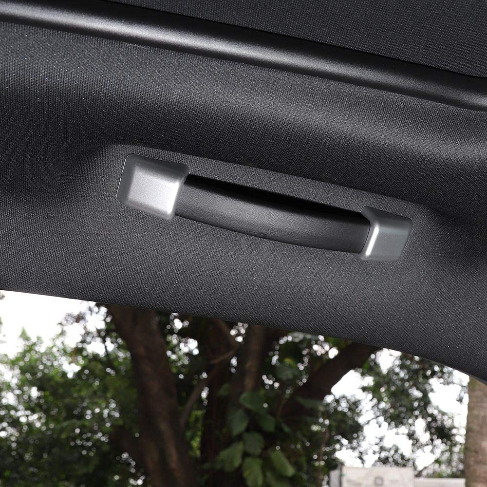 Silver Voodonala for Challenger Grab Handle Decoration Trim Accessories for Dodge Challenger 2015 up