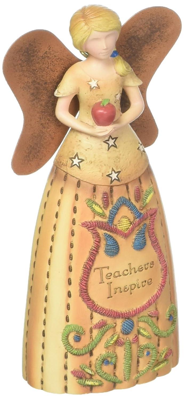 Teacher 4.5 Rustic Angel Ornament Pavilion Gift Company 29013 Pavilion
