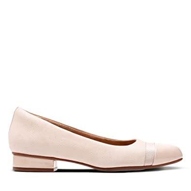 Clarks Keesha Rosa Nubuck Shoes in Extra Wide Fit Size 3  Amazon.co ... b012404bf54