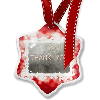 Christmas Ornament Thank You Bacon, red - Neonblond - Amazon.com: Christmas Ornament Thank You Bacon, Red - Neonblond