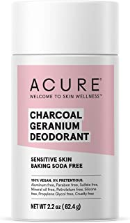 product image for ACURE Magnesium & Charcoal Deodorant | 100% Vegan | For Sensitive Skin | Aluminum & Baking Soda Free | 2.2 Oz