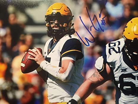 Will Grier Autographed Signed West Virginia Mountaineers