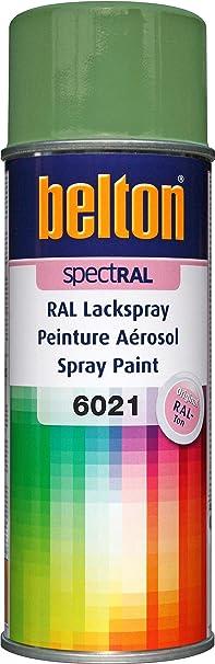 Belton Spectral Lackspray Ral 6021 Blassgrün Glänzend 400 Ml Profi Qualität Baumarkt