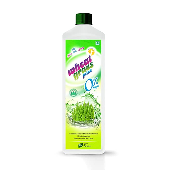 Wheatgrass Juice 1000 ml.  Pack of 1  Vitamins, Minerals   Supplements