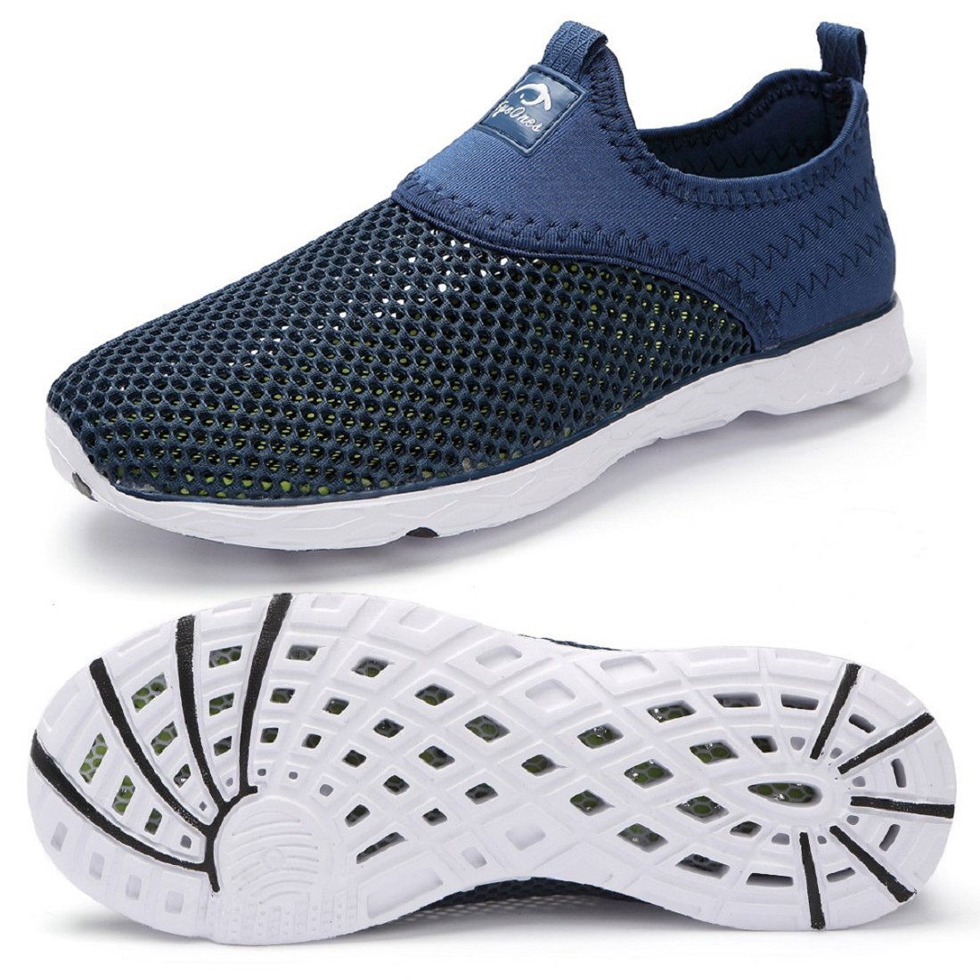 eyeones Men's Quick Drying Fashion Water Shoes B079G5W87Z 41 EU = Men 8 D(M) US / Women 9 B(M) US|Dark/Blue-057cu