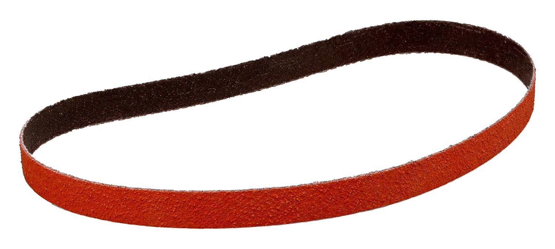 Precision Shaped Ceramic Grain Grit Cubitron II 27853 3M Cloth Belt 984F Polyester Cloth Backing Orange 2-1//2 in x 60 in 60+ YF-Weight