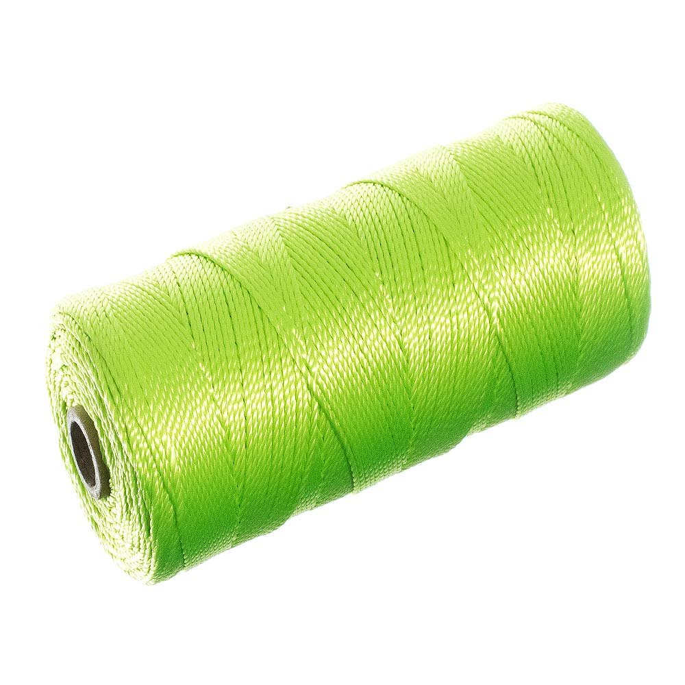 Braided Nylon Mason Line #18 - Paracord Planet - Moisture, Oil, Acid, & Rot Resistant - Twine String for Marine, Masonry, Crafting, Gardening Uses