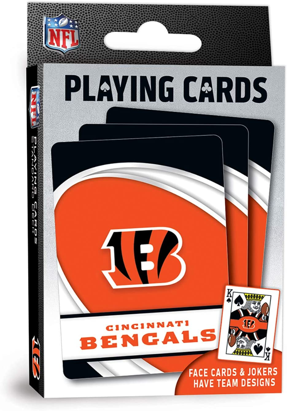 MasterPieces NFL Cincinnati Bengals Playing Cards