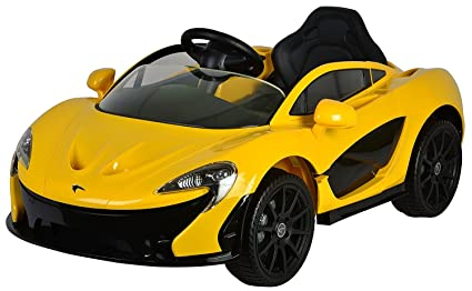 PA Toys Licensed McLaren P1 Ride On Car (Yellow)