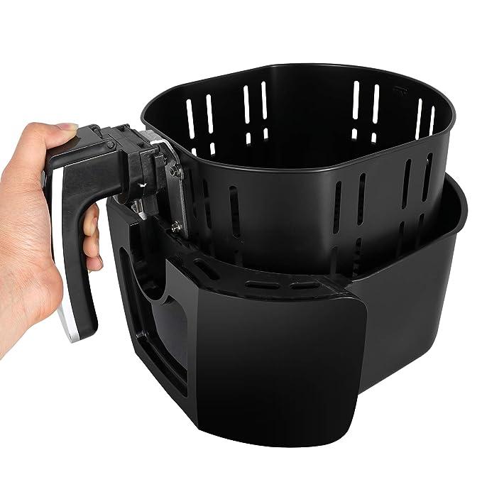 Amazon.com: Freidora eléctrica de 3,7 litros para cocinar ...