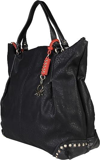 Bolso de mano Benetton 73063 001 MAGRITTE negro – mujer – TU