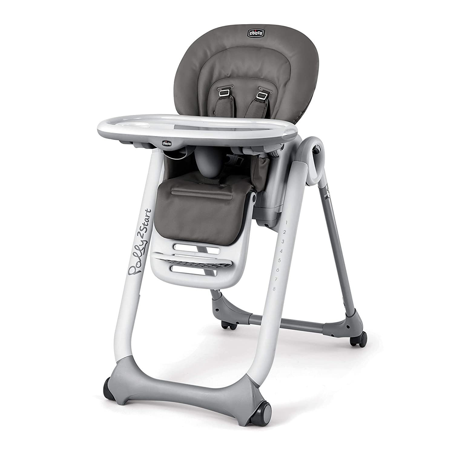 Chicco Polly2Start Highchair, Graphite